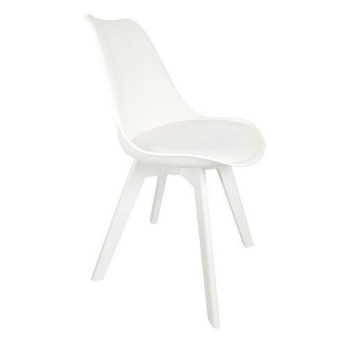 Exitodesign Krzesło eteo z poduszką white legs