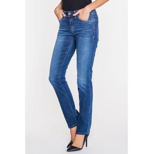 Rj rocks jeans Niebieskie jeansy ze średnim stanem -
