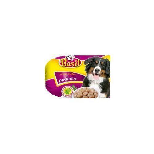 Karma dla psa z drobiem Basil baton 900 g (5903292402086)