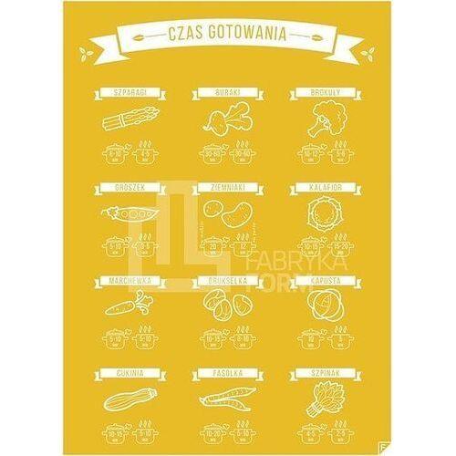 Plakat Gotujemy! żółty 21 x 30 cm, cocolpl2130
