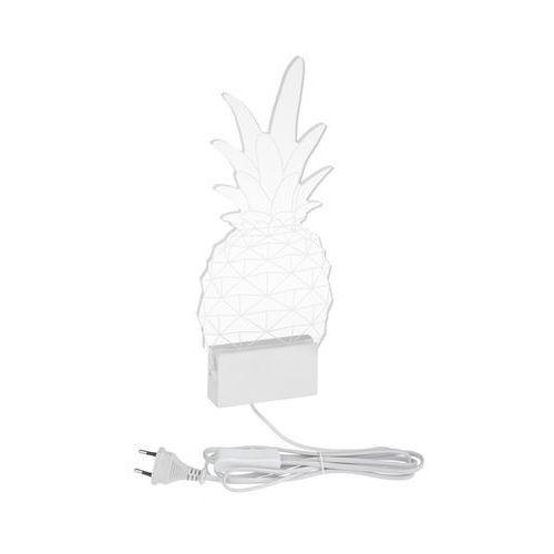 Inspire Kinkiet pineapple led biały