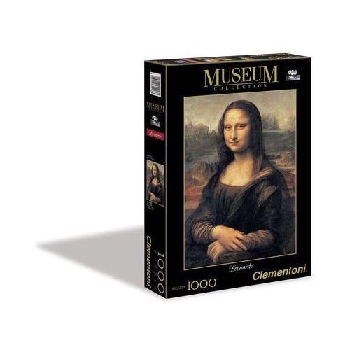 Clementoni Puzzle 1000 museum collection louvre mona lisa (8005125314133)