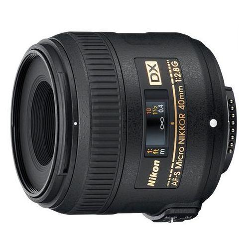 Nikon Obiektyw af-s dx micro ed 40 mm f/2.8g (jaa638da) + darmowy transport!
