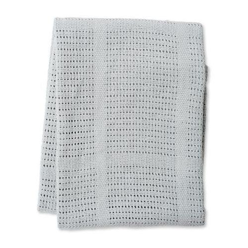 Lulujo kocyk bawełniany tkany grey