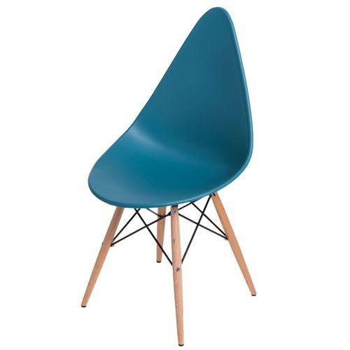 Krzesło Rush DSW navy green, kolor zielony