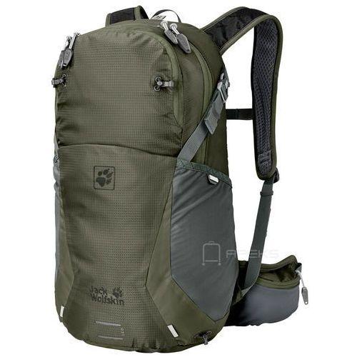 Jack Wolfskin Moab Jam 24 plecak damski turystyczny 50 cm / ciemnozielony - Woodland Green