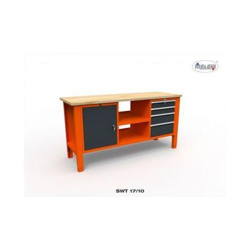 Malow Stół do warsztatu swt 17/10 'trójka' 4 szuflady na klucz narzędzia