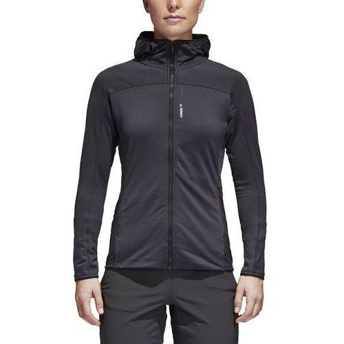 Bluza z kapturem z polaru adidas W CG2421, kolor czarny