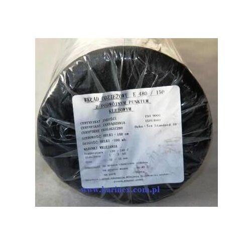 Vateks Wkład odzieżowy elastyczny e 480/150 czarny 100 mb.