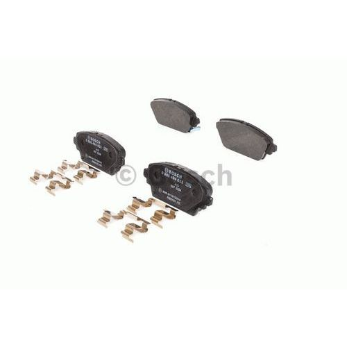 Bosch Zestaw klocków hamulcowych, hamulce tarczowe 0 986 494 633 (4047025368940)