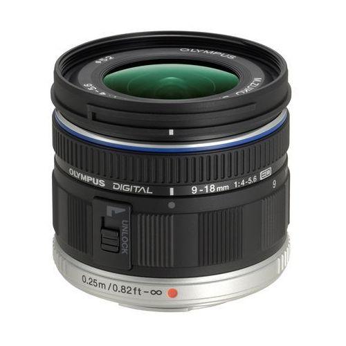 Olympus M.ZUIKO ED 9-18mm f/4.0-5.6 (czarny) - produkt w magazynie - szybka wysyłka! (4545350029654)