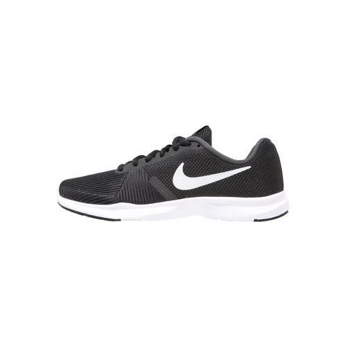 Nike Performance FLEX BIJOUX Obuwie treningowe black/metallic silver/cool grey/white