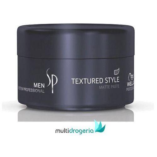 Wella SP Men Textured Style, pasta matująca do stylizacji włosów dla mężczyzn, 75 ml (4015600224899)
