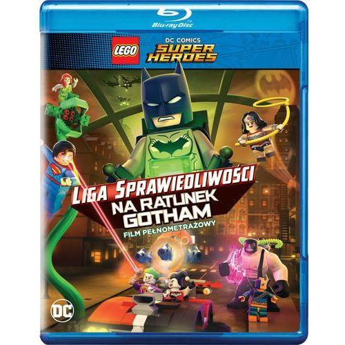 LEGO Liga Sprawiedliwości: Na ratunek Gotham (Blu-Ray) - Matt Peters, Mel Zwyer DARMOWA DOSTAWA KIOSK RUCHU