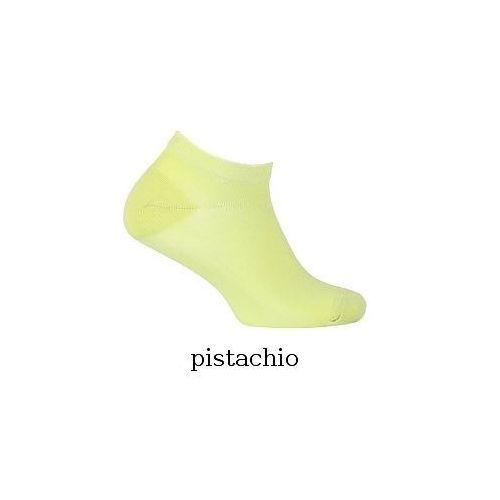 Stopki Wola Soft Cotton W11.060 0-2 lat gładkie 15-17, zielony/pistachio, Wola, W11060001010V10