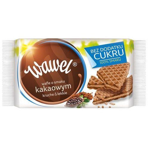 WAWEL 110g Kakaowe wafle bez dodatku cukru