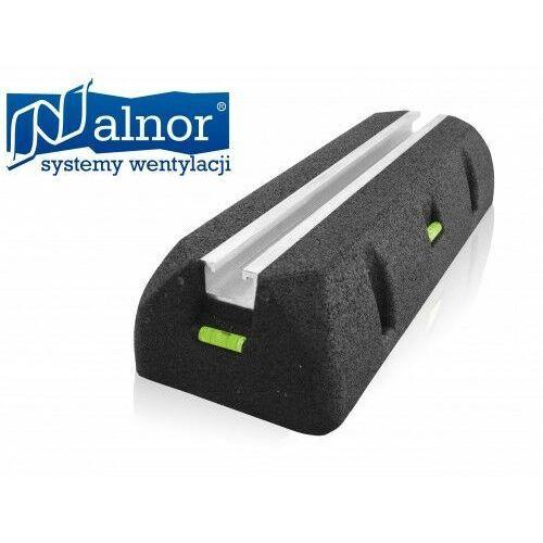 Stopa (podpora) antywibracyjna dachowa z szyną montażową 450mm (ST-ROF-AWL-STR-450)