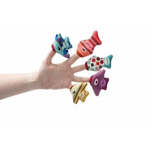 Zabawki do wody z neoprenu Lilliputiens - Rybki pacynki L86825