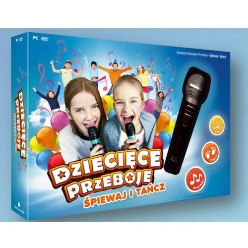 Karaoke Dziecięce Przeboje śpiewaj i tańcz (PC)