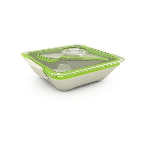 Pudełko na lunch Box Appetit zielono-białe, ba001