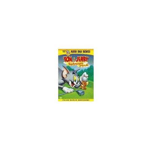 Tom i Jerry, Najsłynniejsze potyczki (DVD) - Galapagos OD 24,99zł DARMOWA DOSTAWA KIOSK RUCHU