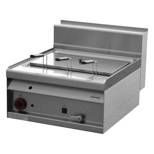 Urządzenie do gotowania makaronu i pierogów gazowe, nastawne, jednokomorowe 25 l, 14 kW, 600x700x290 mm   REDFOX, Linia 700, CP-6G