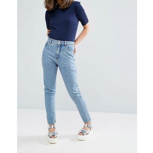 Monki Kimomo Mom Jeans - Blue, jeans