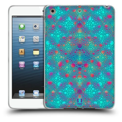 Head case Etui silikonowe na tablet - chameleon skin patterns blue