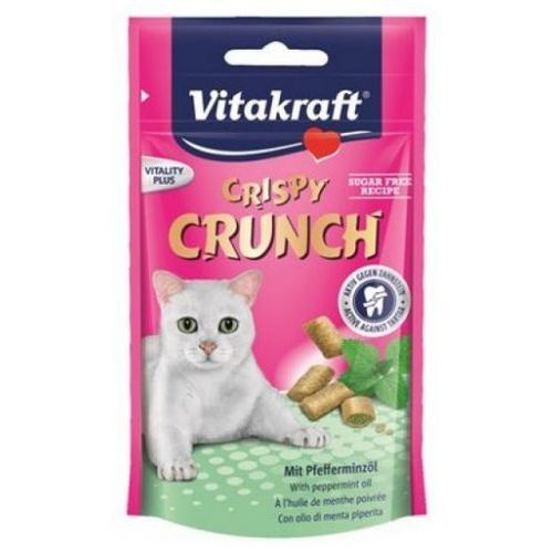 Vitakraft cat crispy crunch dental 60g [2428813] (4008239288134)