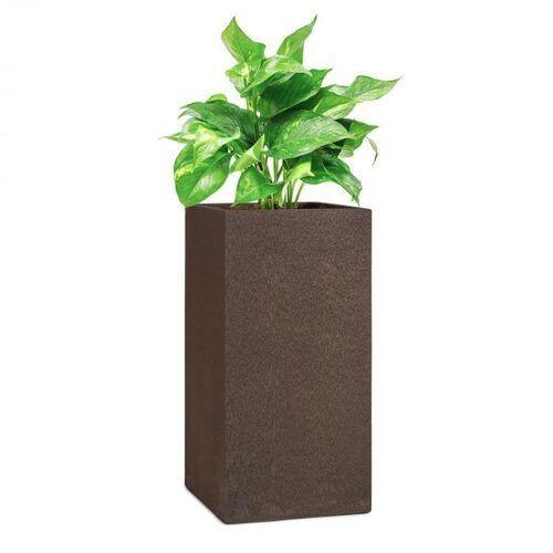 Blumfeldt solid grow rust, pojemnik na rośliny, 40 x 80 x 40 cm, fibreclay, kolor rdzawy (4060656225871)