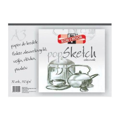 Szkicownik Koh-I-Noor Pop Sketch A4/50k. 110g