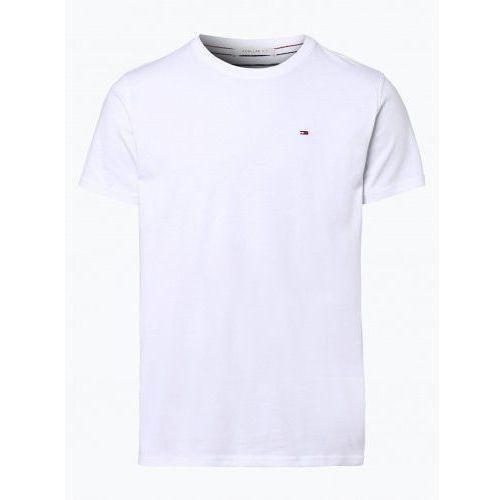 Tommy hilfiger Koszulka tommy jeans t-shirt męski biały