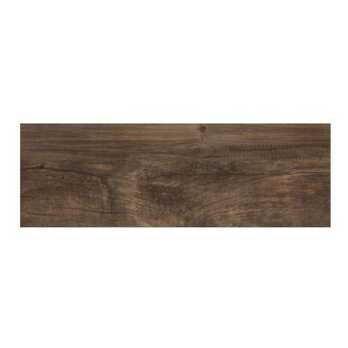 Ceramika paradyz Gres szkliwiony landwood 20 x 60 cm brown 1,2 m2