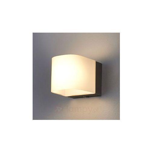 Ponadczasowa lampa ścienna led lukes, ciepły biały marki Lampenwelt
