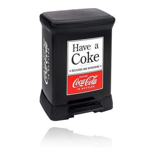 Curver Kosz na śmieci  deco coca cola 30l