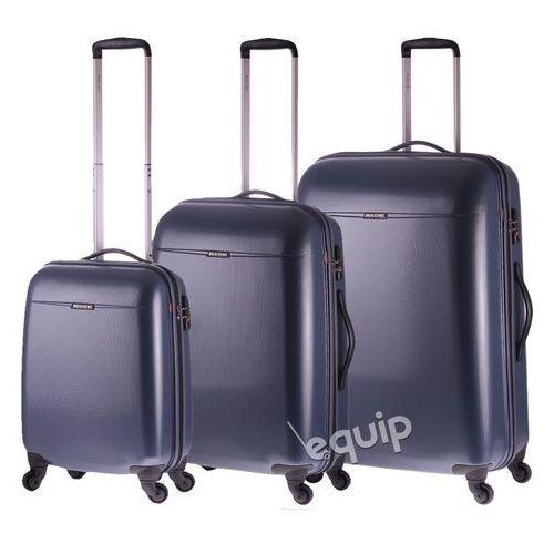 Puccini Zestaw walizek pc 005 - granatowy
