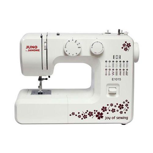 Janome Najlepsza juno e1015 - tylko u nas - dostaniesz darmowy kurs obsługi maszyny on-line - zobacz!