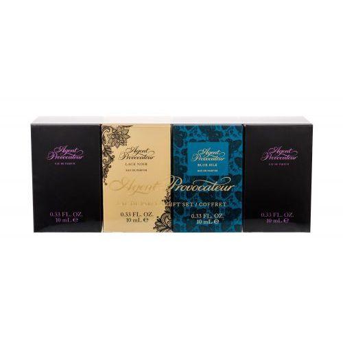 gift set zestaw edp agent provocateur 2x 10 ml + edp lace noir 10 ml + edp blue silk 10 ml dla kobiet marki Agent provocateur