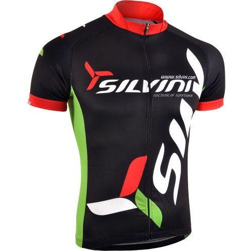 Silvini koszulka rowerowa Team MD257 black S (8596016013667)