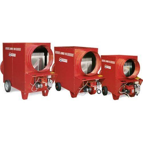 Nagrzewnica gazowa z odprowadzaniem spalin jumbo 200 t/c marki Biemmedue