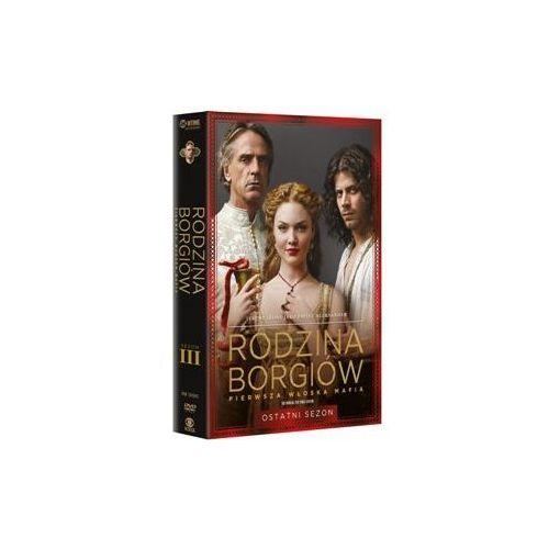Rodzina Borgiów. Sezon 3 (3 DVD) z kategorii Seriale, telenowele, programy TV