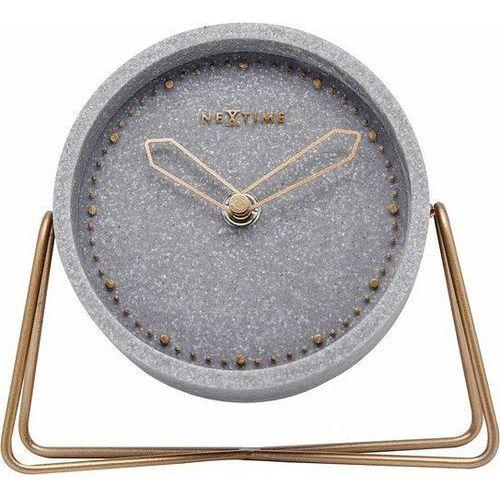 Zegar stołowy cross table szary marki Nextime