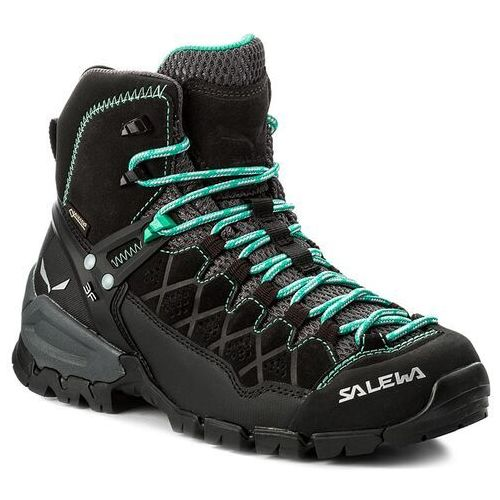 Trekkingi - alp trainer mid gtx gore-tex 63433-0969 black out/agata marki Salewa