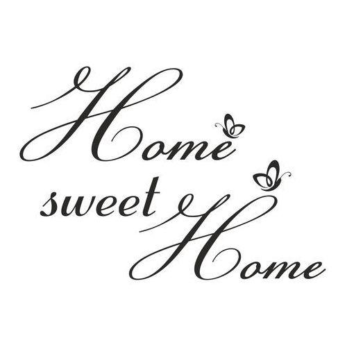 Home sweet home naklejka na ścianę marki Naklej-to.pl