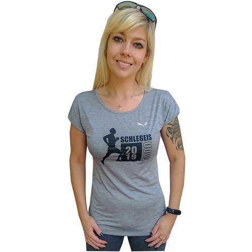 Nowa damska koszulka puez melange dry w s/s tee rozmiar xs marki Salewa