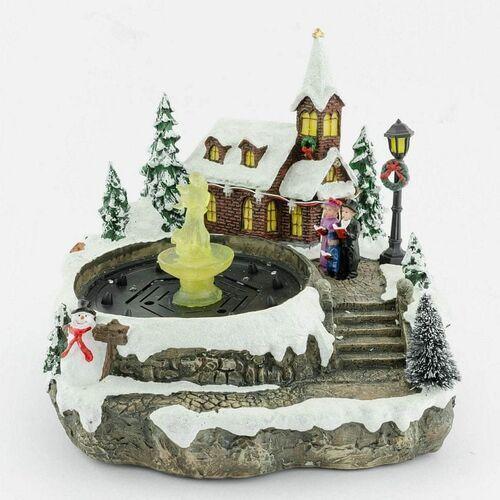Seizis ozdoba świąteczna - fontanna LED (8590308030721)
