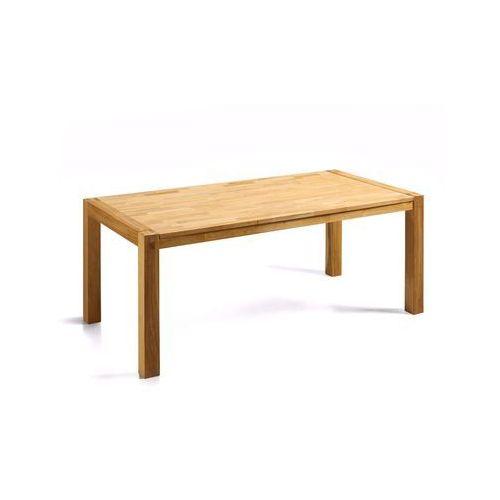 Stylowy stół dębowy kuchnia salon jadalnia 180 cm jasny brąz - NATURA