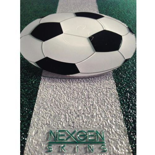 - zestaw skórek na obudowę z efektem 3d ipad 2/3/4 (soccer field 3d) marki Nexgen skins