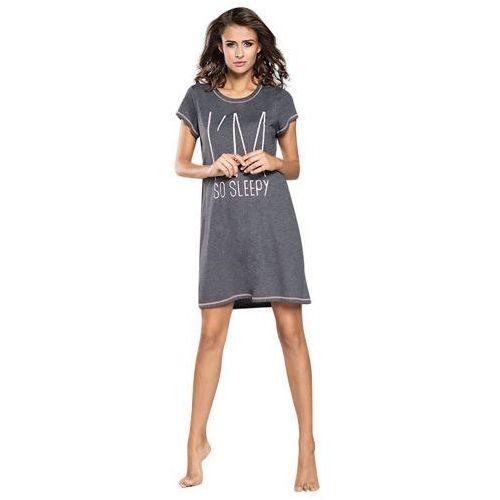 Damska koszula nocna Lizbona Italian Fashion - Szary   Morelowy
