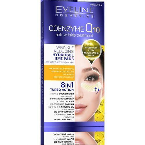 Eveline Coenzyme Q10 Przeciwzmarszczkowe Płatki hydrożelowe pod oczy 8w1 1op.-2szt (5901761971491)